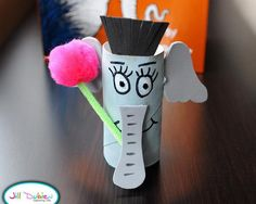 57 elephant craft http://hative.com/homemade-animal-toilet-paper-roll-crafts/