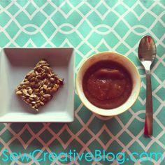 Pumpkin Seed Clusters healthy snack