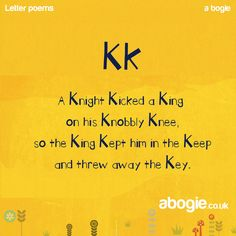 12 best letter poems images on pinterest nonsense poems phonics a nonsense poem for the ever so tricky k its hard to say with spiritdancerdesigns Gallery