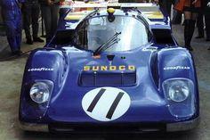 24 heures du Mans 1971 - Ferrari 512M #11- Pilotes : Mark Donohue / David Hobbs