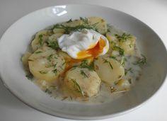 Aneta Goes Yummi: Nostalgická záležitosť: Zemiaky nakyslo s kôprom a strateným vajíčkom
