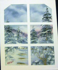 Art Painting Landscape Scenic Nature Surreal by ALBERTSCRAFTS, $50.00