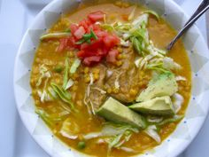 Cuchuco de Cebada (Colombian-Barley and Pork Soup) - for dad My Colombian Recipes, Colombian Cuisine, Kitchen Recipes, Soup Recipes, Cooking Recipes, Cooking 101, Charcuterie, Pork Soup, Seafood Stew