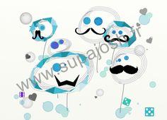 moustaches? yes  création supajosh pour tout support coton de 3 mois a 2xl supajosh.fr  rubrique bonhommes handmande with love in Paris