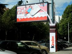 Kinder Chocolate Outdoor Ad | http://www.gutewerbung.net/kinder-chocolate-outdoor-ad/ #Advertising