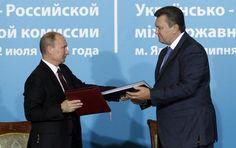 Украјина потписала споразум о Унији са Русијом  Кијев – Председник Украјине Виктор Јанукович је према подацима који за сада нису потврђени потписао споразум са Русијом у који је спада и обавеза приступања Царинској унији од стране Украјине. О томе је написао н