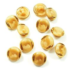 streitstones 12 Stück Glasknopf 13 mm in der Farbe beige-seide-gold bis zu 50 % Rabatt streitstones http://www.amazon.de/dp/B00TSQGHEK/ref=cm_sw_r_pi_dp_7Ch6ub19K1FGM, buttons, Glasknopf, button, Glasknöpfe, Knopf, Glas, streitstones, Material