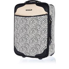 Beige leopard print panel wheelie suitcase - make up bags / luggage - bags / purses - women River Island Fashion, Holiday Wardrobe, Luggage Bags, Sale Items, Purses And Bags, Boy Or Girl, Fashion Accessories, Beige, Clothes For Women