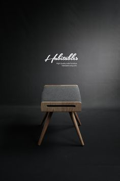 NEW Stool / Seat / Ottoman / bench in solid oak by Habitables