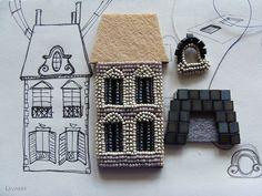 Мой дом всегда со мной. Париж.   biser.info - всё о бисере и бисерном творчестве