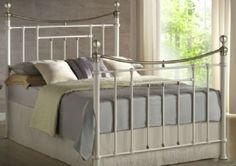 Birlea Tetras Bed Silver And Beech Double Metal Aesthetic Appearance