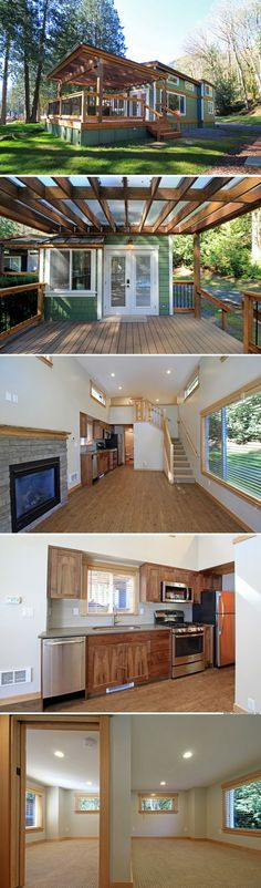 The Whidbey: a luxury 400 sq ft park model home