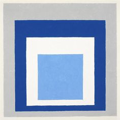 Josef Albers Homage to the Square, 1951 oil on masonite 11 × 11 in. (27.9 × 27.9 cm) 1976.1.280