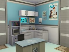 Meet the vet at the health care center or just keep your old buddy young at the show-jumoing course. The dog partour is waiting for you too. Found in TSR Category 'Sims 4 Community Lots' The Sims, Sims Cc, Pet Health, Health Care, Sims 4 House Building, Icon Design, Sims 4 Characters, Pet Clinic, Sims 4 Build