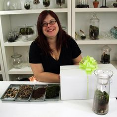 How to create moss terrariums...