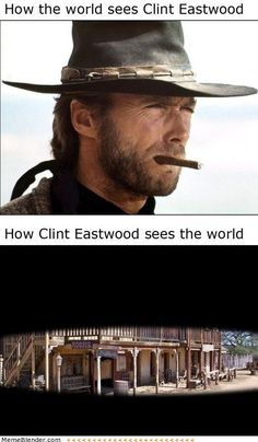 How the world sees Clint Eastwood