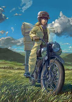 Kino and Hermes | Kino no Tabi (Kino's Journey) - Anime I love.