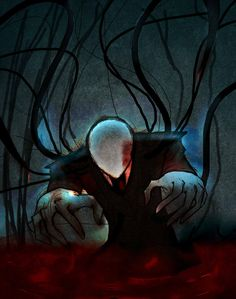 + Blood + by tmntffnyp on deviantART Creepypasta Slenderman, Eyeless Jack, Laughing Jack, Creepy Pictures, Horror Stories, True Stories, Weird World, Community Art, Scary