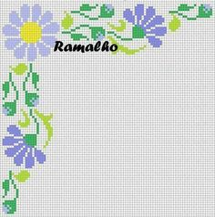 1 million+ Stunning Free Images to Use Anywhere Cross Stitch Borders, Cross Stitch Flowers, Cross Stitch Designs, Cross Stitching, Embroidery Patterns, Stitch Patterns, Free To Use Images, Floral Border, Flower Patterns