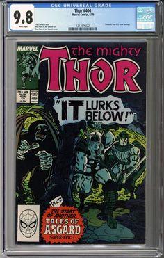 Newly in: Thor #404  CGC 9.8 #comics    http://coloradocomics.com/products/thor-404-cgc-9-8?utm_campaign=social_autopilot&utm_source=pin&utm_medium=pin