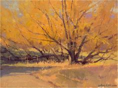 "Marc Hanson | ""November Willow Gold"""