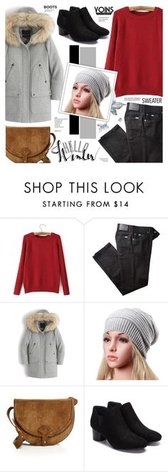 """Yoins 16"" by anyasdesigns ❤ liked on Polyvore featuring BRAX, J.Crew and Maiyet"