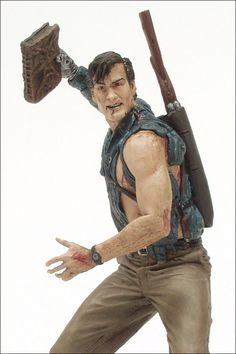 Army of Darkness Figure:  Ash / Bruce Campbell by McFarlane