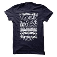 Awesome tee for Academic Advisor T-Shirts, Hoodies. Check Price ==> https://www.sunfrog.com/No-Category/Awesome-tee-for-Academic-Advisor-67225334-Guys.html?id=41382