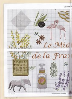 <3 Cross Stitch Kitchen, Cross Stitch Bird, Cross Stitching, Cross Stitch Patterns, Cross Stitch Landscape, Provence Style, Little Stitch, Stitch 2, Fabric Crafts