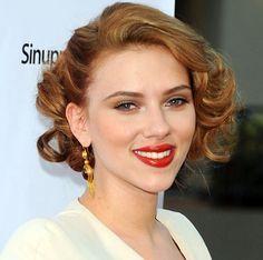 Fashion Redemption: Retro Hair - the fifties- Scarlett Johannsson