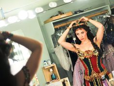 Angel of music! See Sierra Boggess' backstage transformation at THE PHANTOM OF THE OPERA