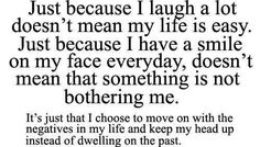 I choose to move on with the negatives in my life - Quotes Pictures, Inspirational Images with Quotes | SayingImages.com
