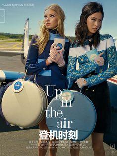 IMG Models - Tian Yi and Elsa Hosk | Vogue China