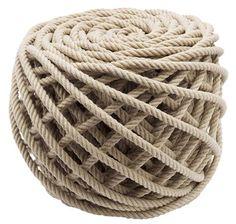 // rope ottoman