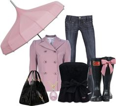"""Galoshes Glaore!!!"" by laaudra-rasco ❤ liked on Polyvore"