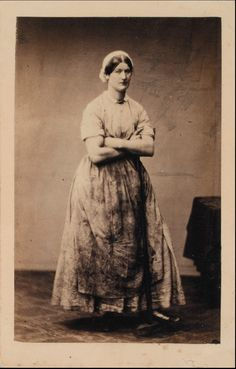 Maid of all work. Hannah Cullwick!
