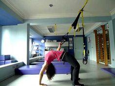TRX Training your Yoga Drop Back