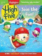 Great holiday gift idea for preschoolers! High Five helps you encourage your child's development and gives you an ideal opportunity for one-on-one fun together.