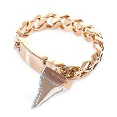 Givenchy - Shark Tooth ID Bracelet.