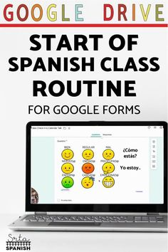 Here's a routine for the beginning of Spanish class! How to start your class each day with a check-in and Calendar Talk. Click to get started! This classroom routine is great for classroom management during Back to School or if you want to reset expectations with a new group of students! Use this routine to build relationships and vocabulary for feelings, days, months, dates, weather, and more! Check out this digital resource for use with Google Drive and Google Forms! Spanish Lesson Plans, Spanish Lessons, Class Routine, Middle School Spanish, Classroom Routines, Spanish 1, Teacher Notes, Spanish Classroom, Class Activities