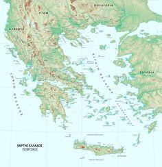 Γεωφυσικός χάρτης Ελλάδας στα Ελληνικά. Πολύ λεπτομεριακός χάρτης. Βουνά, ποτάμια, υψομετρικός. (ΚΩΔ.EL-GEO-217). Παραγγελία σε ότι μέγεθος και υλικό θέλετε. Places To Visit, World, Quotes, The World, Quotations, Quote, Places Worth Visiting, Manager Quotes, Qoutes