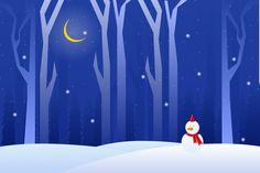 Паронама зимняя ночь со снежным человеком пейзаж Premium векторы   Free Vector Winter Night, Snowman, Disney Characters, Fictional Characters, Landscape, Free, Painting, Paintings, Draw
