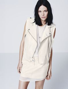 ooooh i want this vest  H&M Lookbook Spring 2012