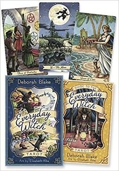 Everyday Witch Tarot: Deborah Blake, Elisabeth Alba: 9780738746340: Books - Amazon.ca