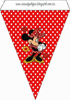 Minnie Roja: Imprimibles Gratis para Fiestas. Oh My Fiesta, Blogger Templates, Mickey Mouse, Playing Cards, Club, Free, Ideas, Making Memories, Birthday Surprises