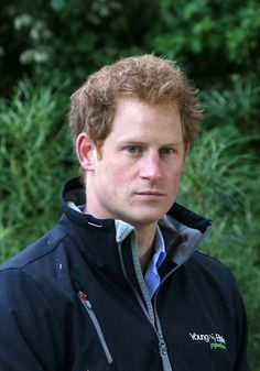 Prince Harry: Eye,We could lose ourselves in Prince Harry's cool blue eyes!