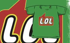 LOL T-shirt by Bubble-Tees.com by Bubble-Tees