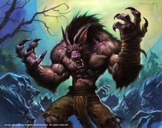 147 Best Worgen Images World Of Warcraft Werewolf