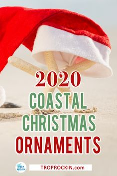 Best Beach Christmas Ornaments for 2020! Beach Decor for your holiday beach house. These beach ornaments are perfect for your beachy Christmas tree.