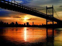 New York U.S.A. Astoria Sunset by Venera Varbanova on 500px